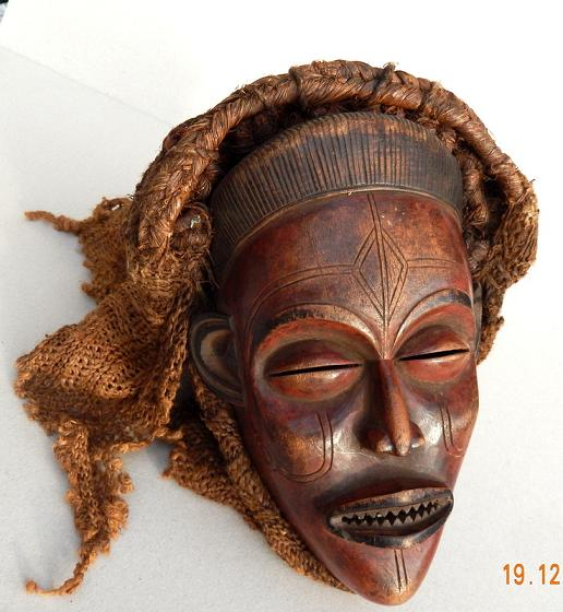 masque africain occasion
